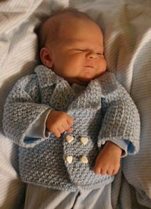 David Peacoat:: Free Crochet Cardigan Sweater Patterns for Baby Boys! Roundup on Moogly