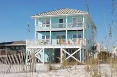 Gulf Shores, AL: Lagniappe II is a Gulf-front home located approximately 2.6 miles west of Hwy. 59 on West Beach Blvd. in Gulf Shores. This Gulf Shores beach home has ...