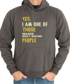 Yes I Am One Of Those Dragon Boat Racing People Sports by Idakoos, $36.00