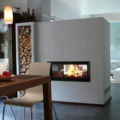 Brunner tunnel fireplace kit