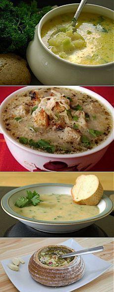 Вкусно и полезно: рецепты чесночного супа
