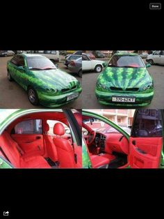 Watermelon car, let me think, I think its approved.