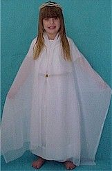 How to make an angel costume from a sheet children s angel and diy christmas angel outfit solutioingenieria Choice Image