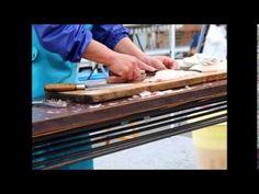 【 うろうろ和歌山 】 真鯛 タイ しめ方1 さばき方 How to make Sashimi Japanese food ( s sea re...