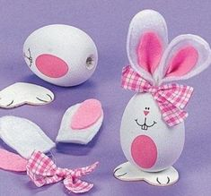 Image shared by Kate Maltseva. Find images and videos about easter, easter decorations and easter crafts on We Heart It - the app to get lost in what you love. Egg Crafts, Bunny Crafts, Easter Crafts, Diy And Crafts, Crafts For Kids, Hoppy Easter, Easter Bunny, Easter Eggs, Spring Crafts