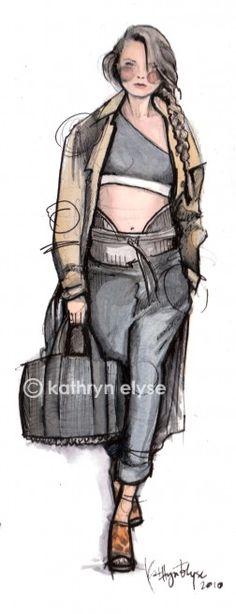 Kathryn Elyse Fashion Illustrations