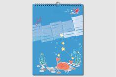 Sternzeichen Geburtstagskalender. Jeden Monat ein neuer Schatz. Kalender ohne Jahreszahl und Tagesangabe, wiederverwendbar, DIN A4, Juli