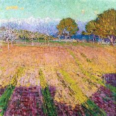 John Russell, who was destined to become an engineer, instead became an artist in fin de siècle France – and a friend of Van Gogh, Monet and Rodin. Australian Painting, Australian Artists, Auguste Rodin, Claude Monet, Vincent Van Gogh, Impressionist Paintings, Landscape Paintings, Matisse, John Russell