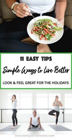 Fast and Easy Ways to get Fit and Healthy for Life!  Try these 11 Simple Ways to Live Better for Women's Health.  Full article at www.derbylanedreams.com