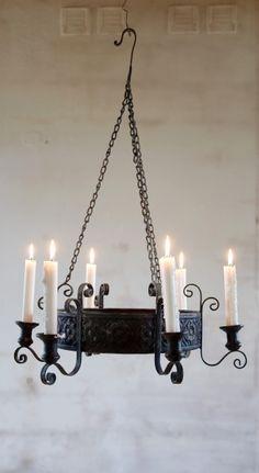 OLSSON & JENSEN candle chandelier