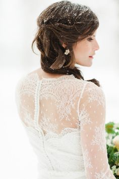Winter inspiration: http://www.stylemepretty.com/montana-weddings/coram/2014/10/01/winter-wedding-inspiration-at-green-valley-ranch/ | Photography: Rebecca Hollis - http://rebeccahollis.com/