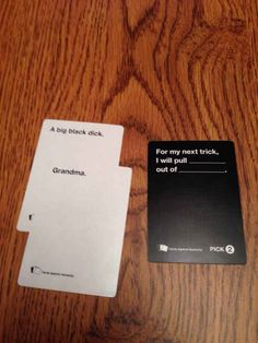 The 21 Worst Cards Against Humanity Cards To Play Around Family I Shocking but I couldn't help laughing my butt off. Funny Quotes, Funny Memes, Hilarious, Tv Memes, Funniest Cards Against Humanity, Haha, Funny Cards, Stupid Memes, Just For Laughs