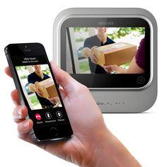 Digitální dveřní Wi-Fi kukátko VEIU smart