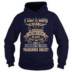 PROGRAMMER-ANALYST - Shirt SKU: 91833395 (Programmer Tshirts)