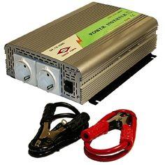 """Inverterillä saadaan ajoneuvoakun jännite (12V/24V) muunnettua 230V 50H vaihtojännitteeksi, ja näinollen voidaan esim. kotitalouskoneita, televisiota yms. laitteita käyttää autossa, veneessä, asuntovaunussa ...  """"Genius Power"""" -invertereiden hyötysuhde on n. 90%. Kaikissa malleissa on LowBatt-hälytys ja -katkaisu ja ylikuumenemis- , ylikuormitus- ja sisäänmenon oikosulkusuojaukset, sekä sisäiset tuulettimet. http://www.nymix.fi/auto-venetarvikkeet-invertterit-c-500_525.html"""