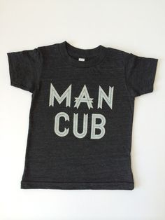 Loved by Hannah & Eli Man Cub Tee Shirt – Roman & Leo