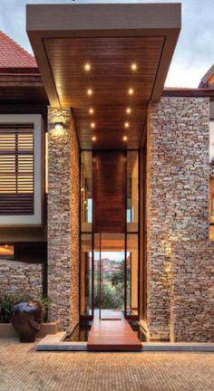 New Exterior Architecture Facade Entrance Ideas Amazing Architecture, Interior Architecture, Future House, House Entrance, Modern Entrance, Modern Entryway, Entrance Design, Entryway Ideas, Grand Entrance
