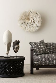 An Australian Textile Collection With African Style – AphroChic: Modern Global Interior Decorating. Pin repinned by Zimbabwe Artisan Alliance.