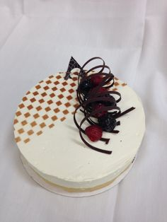 Mudslide entremet #jwuculinary. Submitted by Becca Baier.