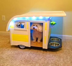 """Dog Accessories Puppys """"Canine Campers"""" Are For Dogs Who Want To Enjoy The RV Lifestyle.Dog Accessories Puppys """"Canine Campers"""" Are For Dogs Who Want To Enjoy The RV Lifestyle Positive Dog Training, Training Your Puppy, Training Dogs, Unique Dog Beds, Cute Dog Beds, Diy 2019, Mini Dogs, Dog Behavior, Dog Accessories"""