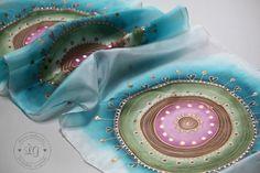 Pestré ornamenty by LGhodvab - SAShE.sk - Handmade Šály