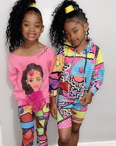 Black Kids Fashion, Cute Kids Fashion, Big Girl Fashion, Cute Swag Outfits, Cute Outfits For Kids, Afro, Cute Mixed Kids, Cute Kids Photos, African Dresses For Kids