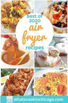 We made it through another delicious, food-filled year! Here is a list of the best Air Fryer recipes I made this year! This year, I focused on beginner recipes to test out the versatility of an air fryer - in fact, I find the air fryer to be much easier to use compared to an electric pressure cooker! I can't wait to get started on 2021 recipes to try out and share! Until then, here's a fond farewell to 2020 and a delicious outlook for 2021! Desserts For A Crowd, Fancy Desserts, Dessert Recipes, Air Fryer Fried Chicken, Air Fryer Baked Potato, Best Air Fryers, Cinnamon Chips, Fruit Salsa, Everything Bagel