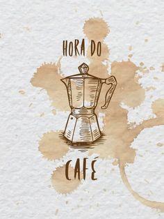 Poster - Hora do café