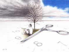 Time by Lars Furtwaengler   Colored Pencil   2014