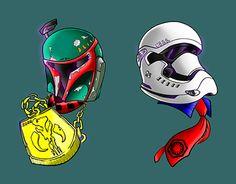 """Check out new work on my @Behance portfolio: """"boba fett - stormtrooper"""" http://be.net/gallery/32447541/boba-fett-stormtrooper"""