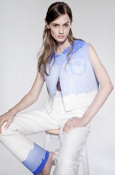 Xiao Li Fashion Design Xiao Li, Christmas Baby, Mode Inspiration, White Jeans, Blue And White, History, Fashion Design, Tops, Women