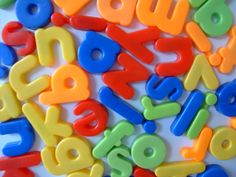Magnetic letters for kids