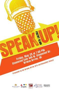Poetry Slam in Broken Arrow, Oklahoma