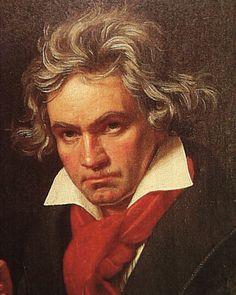 Ludving van Beethoven. Compositor de música clásica.