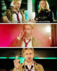 Welcome to the show, Mr. Constantine. I think I like you already. | 4.05