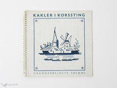 Haandarbejdets Fremme のクロスステッチの図案集です。 Aase Nyegaardがオランダの古いタイルを元にデザインした、12のクロスステッチパターンが掲載されています。