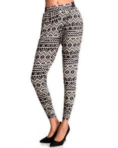 Love this Lafayette Tribal Printed Jogger Pants by Fashio... on DrJays. Take a look and get 20% off your next order!