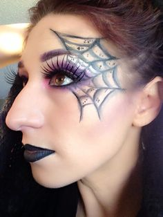 Spider Lashes by DannicaCanada. Tag your pics with #Halloween and #SephoraSelfie on Sephora's Beauty Board for a chance to be featured!