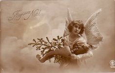 Vintage Postcard ~ Angel | Flickr - Photo Sharing!