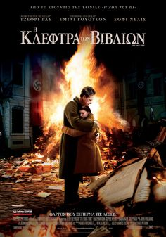 The Book Thief Directed by Brian Percival. Writers: Markus Zusak (based on the novel by), Michael Petroni (screenplay). Starring: Sophie Nélisse, Geoffrey Rush and Emily Watson. Emily Watson, Markus Zusak, Movies To Watch Free, Great Movies, Love Movie, Movie Tv, Movie Theater, Sophie Nélisse, Soundtrack