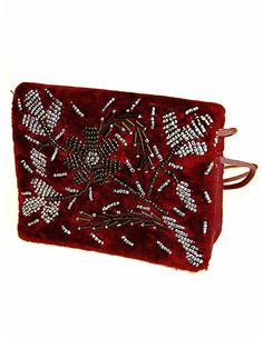 Outstanding Maroon Purse http://www.bharatplaza.com/new-arrivals/accessories.html