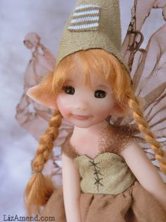 Wood Elf.  www.LizAmend.com