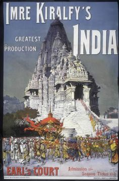 Imre Kiralfy's Empire of India Exhibition, Earl's Court, 1895. Catalogue reference: COPY 1/118 folio 229