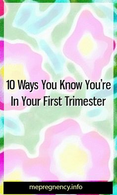 022c5606b46 10 Ways You Know You re In Your First Trimester  pregnency  maternitydress
