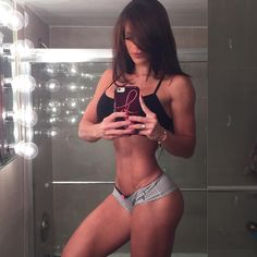 Where there's discipline, there's hope ( Michelle Lewin's Instagram )