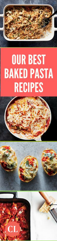 These cheesy, cozy, and crowd-pleasing baked pasta recipes are sure to satisfy even the pickiest eater in your family. From crave-worthy lasagna to manicotti to stuffed shells, this mouthwatering recipe collection is jam-packed with healthier ways to enjoy your favorite baked pasta dishes.