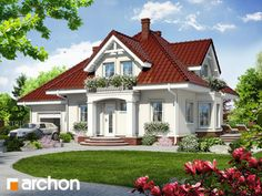 Dom w tamaryszkach 7 Home Fashion, Door Design, Doors, Mansions, House Styles, Home Decor, Decoration Home, Manor Houses, Room Decor