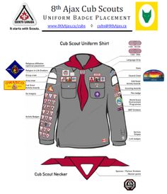 Comment porter luniforme - Association des scouts du Canada