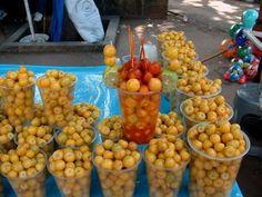 nances- yellow berries from El Salvador
