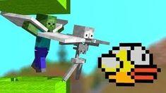 Minecraft School Videos - Page 10 Minion Rush, Minions, Minecraft School, Monster School, Flappy Bird, School Videos, Challenges, Animation, Bricolage